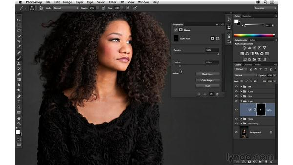Crafting the light with Curves: Portrait Project: Retouching a Studio Portrait
