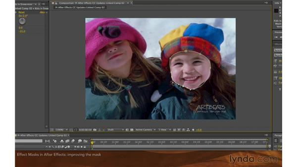 Effect masks in After Effects: After Effects: Creative Cloud Updates