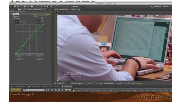 Curves UI: After Effects: Creative Cloud Updates