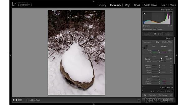 Adjusting exposure and white balance for accurate snow: Travel Photography: Mountains and Snow Landscapes