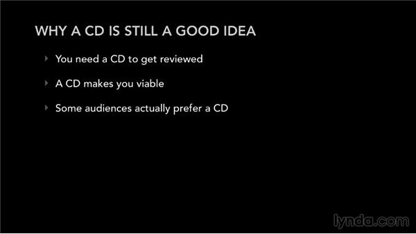 Why a CD is still a good idea: Selling Music: MP3s, Streams, and CDs