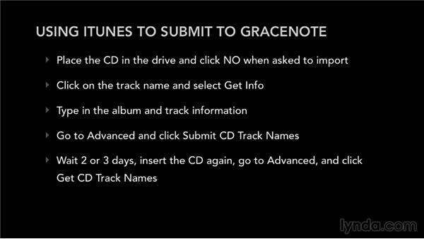 How to submit to Gracenote: Selling Music: MP3s, Streams, and CDs