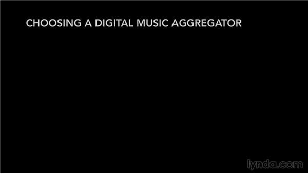 Choosing a digital music aggregator: Selling Music: MP3s, Streams, and CDs