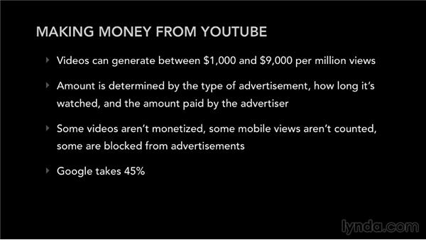 Monetizing your YouTube videos: Selling Music: MP3s, Streams, and CDs