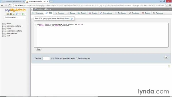 Deleting spam commentmeta with an SQL command: WordPress Developer Tips: Deleting Spam Comments in the Database