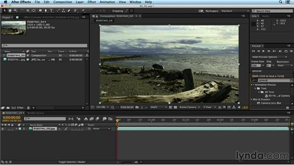 Best practices for using the CameraTracker in After Effects: Up and Running with the Foundry CameraTracker for After Effects