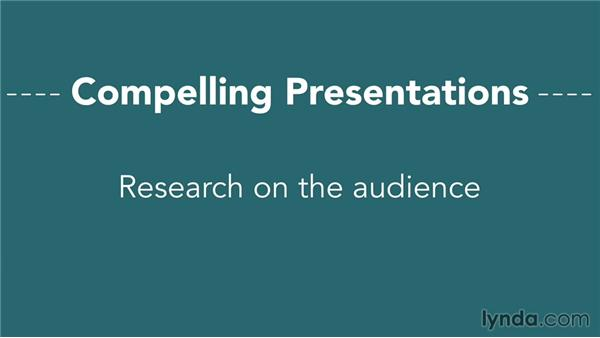 What makes a compelling presentation?: Presentation Fundamentals
