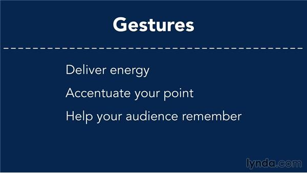 Gestures that engage: Presentation Fundamentals