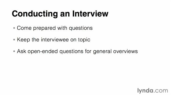 Interviewing the client: Relational Database Fundamentals