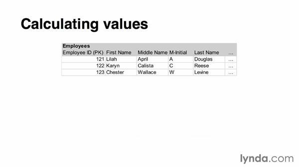 Third normal form: Relational Database Fundamentals