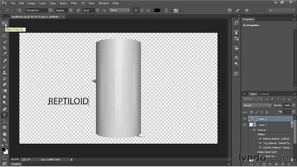 Creating 3D objects within Photoshop: 3D Printing with Photoshop