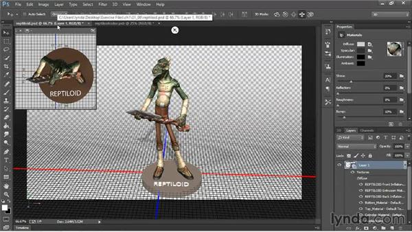 Fixing texture map problems: 3D Printing with Photoshop