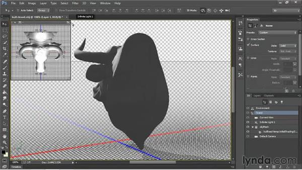 Making models hollow with opacity maps: 3D Printing with Photoshop