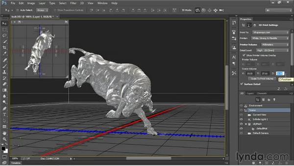 Printing fine detail with bump maps: 3D Printing with Photoshop