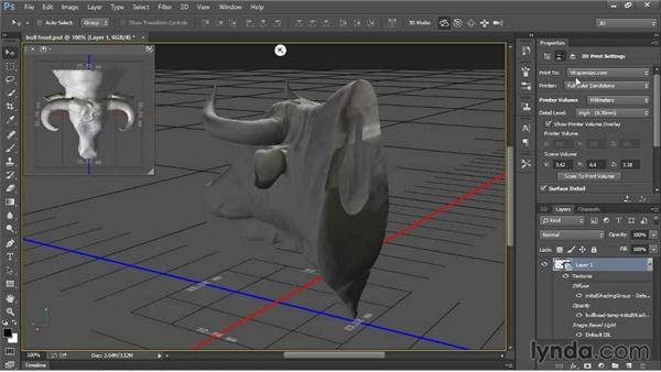 Understanding the 3D print settings: 3D Printing with Photoshop
