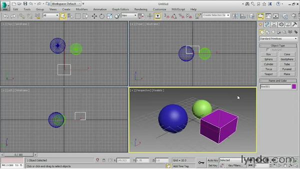 Using the Create and Modify panels: 3ds Max 2015 Essential Training