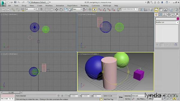 Navigating in viewports: 3ds Max 2015 Essential Training