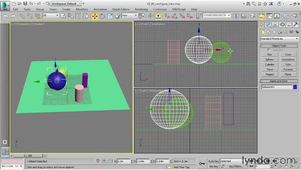 Configuring viewports: 3ds Max 2015 Essential Training