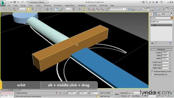 Understanding level of detail: 3ds Max 2015 Essential Training