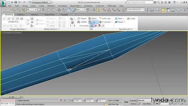 Detailing with Cut and Remove: 3ds Max 2015 Essential Training