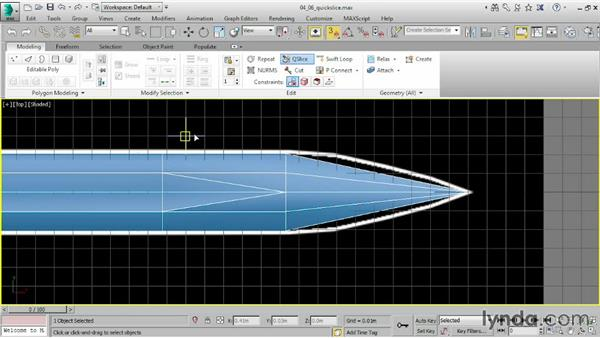 Detailing with QuickSlice: 3ds Max 2015 Essential Training
