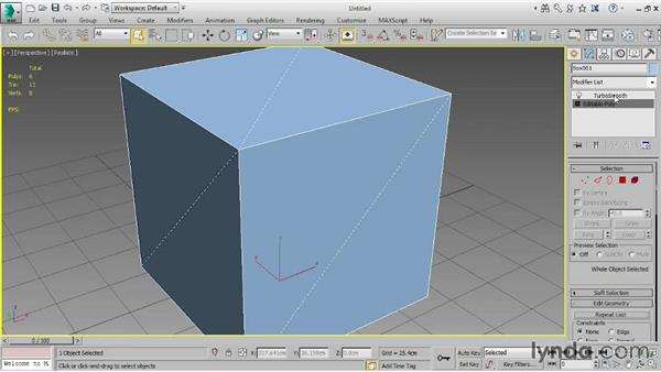 Understanding subdivision surfaces: 3ds Max 2015 Essential Training