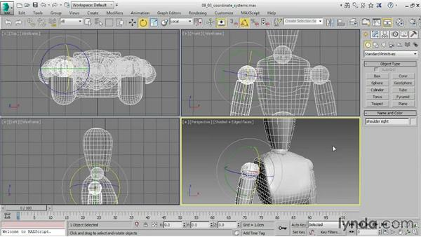 Understanding coordinate systems: 3ds Max 2015 Essential Training