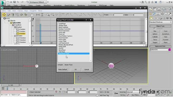 Understanding controllers: 3ds Max 2015 Essential Training