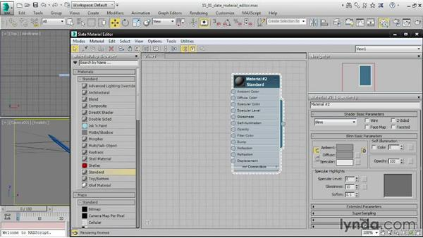 Using the Slate Material Editor: 3ds Max 2015 Essential Training