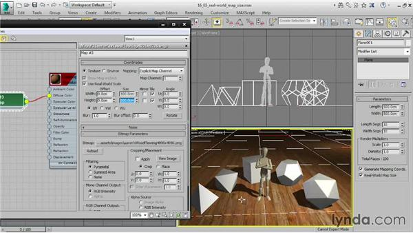 Using Real-World Map Size: 3ds Max 2015 Essential Training