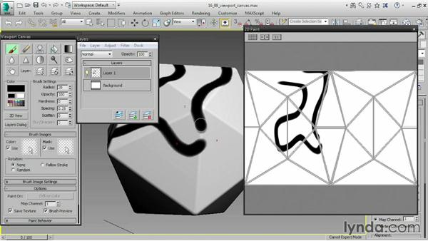 Painting objects with Viewport Canvas: 3ds Max 2015 Essential Training