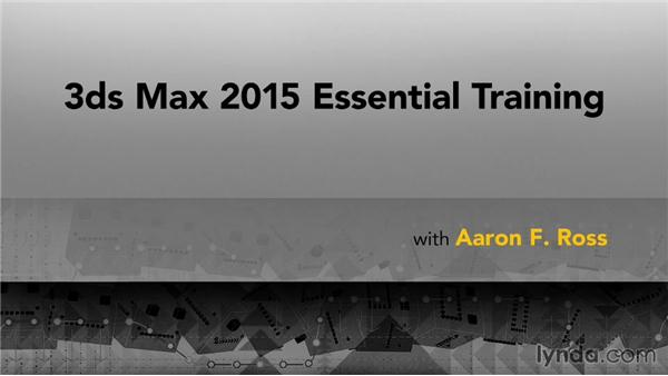 Goodbye: 3ds Max 2015 Essential Training