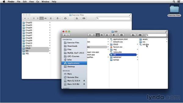 Installing SID on the Mac: MySQL Essential Training