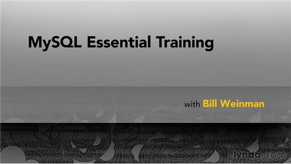Goodbye: MySQL Essential Training