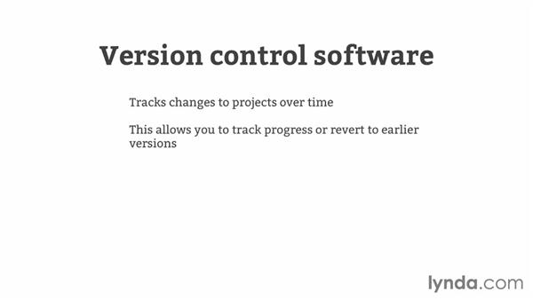 Version control overview: GitHub for Web Designers