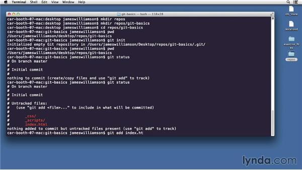 Adding files: GitHub for Web Designers