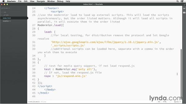 Modifying files: GitHub for Web Designers