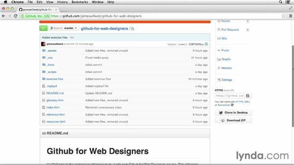 Project overview: GitHub for Web Designers