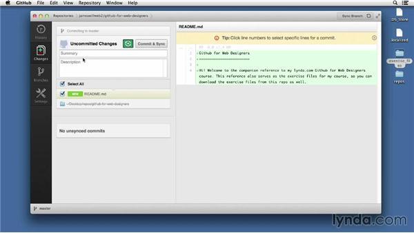 Adding new files: GitHub for Web Designers
