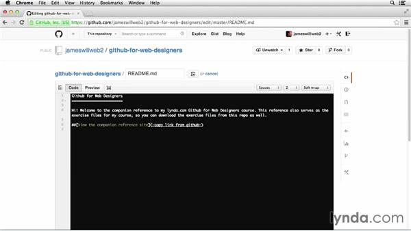 Pulling remote files: GitHub for Web Designers
