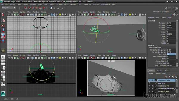Welcome: Creating Product Shots in Maya