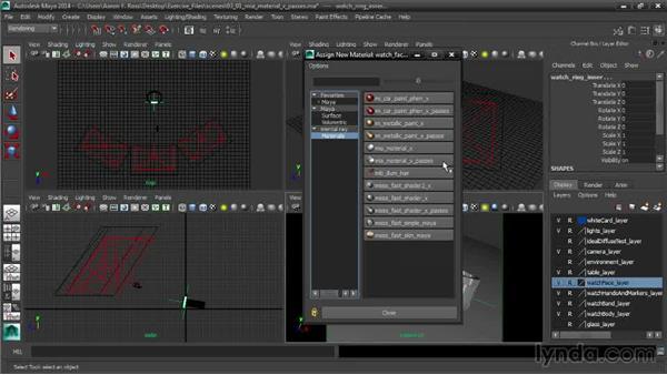 Creating shaders with mia_material_x_passes: Creating Product Shots in Maya