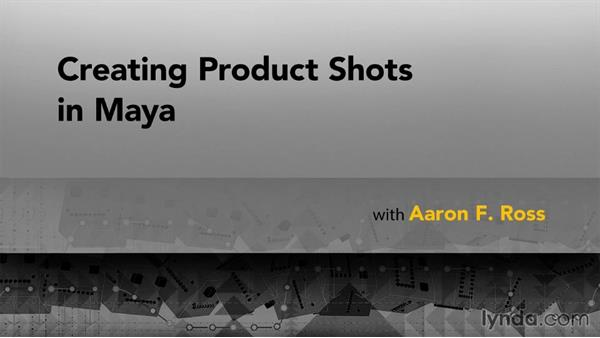 Goodbye: Creating Product Shots in Maya