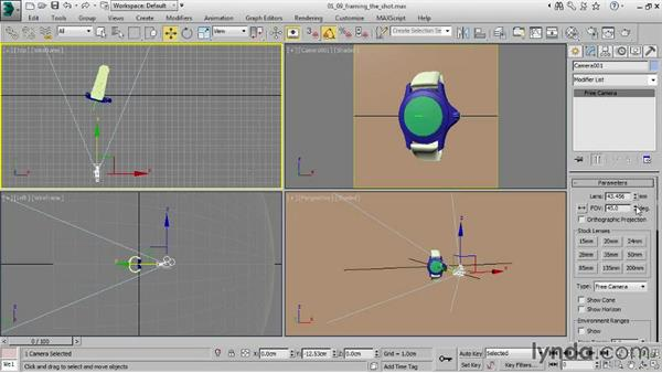 Framing the shot: Creating Product Shots in 3ds Max