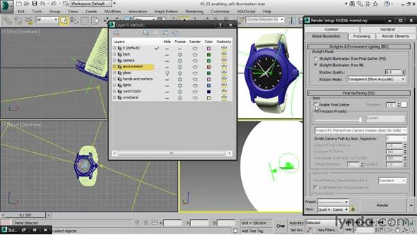 Enabling self-illumination: Creating Product Shots in 3ds Max