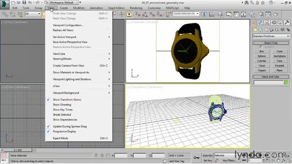 Modeling environment geometry: Creating Product Shots in 3ds Max