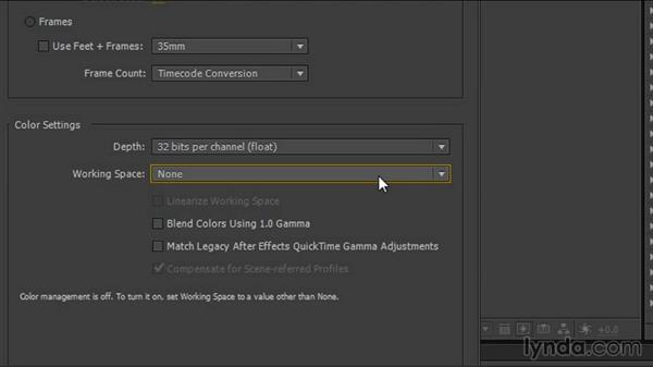 Defining After Effects color settings: Creating Product Shots in 3ds Max