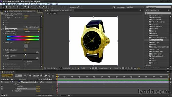 Adjusting the image: Creating Product Shots in 3ds Max