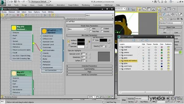 Creating ambient-occlusion materials: Creating Product Shots in 3ds Max