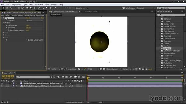 Layering specularity and reflections: Creating Product Shots in 3ds Max